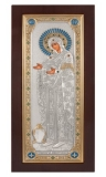 "Икона 4,8x9,2 ""Геронтисса"" Богородица (серебро; дерево)"