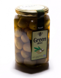 Натуральные Зеленые оливки Халкидики в рассоле