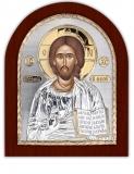 Икона 20x25 Иисус Христос (серебро)
