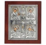 Икона 20x24,3 Крест (серебро)