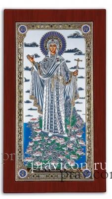 EK56-019XAG. 104x178. Богородица Святой Горы Афон, Ростовая
