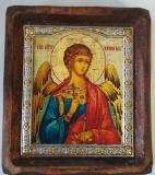 """Икона """"ВИЗАНТИКОС"""", ~80-90, Полуоклад № 2, Ангел Хранитель, шт"""