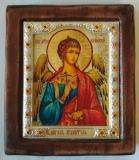 """Икона """"ВИЗАНТИКОС"""", ~115-135, Полуоклад № 3, Ангел Хранитель, шт"""