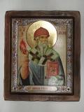 """Икона """"ВИЗАНТИКОС"""", ~210-250, Полуоклад № 5, Спиридон, шт"""