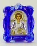 EK1-023MAG-2, Икона Silver Axion, 70х90, Св. Пантелеймон, Мурано, шт