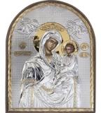 """Икона 8,5x10,5 """"Скоропослушница"""" Богородица (серебро; пластиковая основа)"""