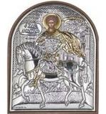 EP2-014PAG. Икона Afon Silver. 58x75. Св.Димитрий Солунский, шт