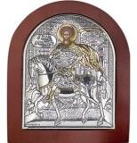 EK4-014XAG, Икона Silver Axion, 156х190, Св. Дмитрий, шт