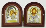EP3-004DG. 125x100. Казанская, диптих