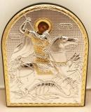 EP4-010XG, Икона Afon Silver, 119x152, Св.Георгий, шт