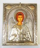 EP525-172XP, Икона Afon Silver, 207х245, Ангел Хранитель, Под старину, шт
