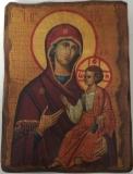 Икона под старину, 70-100, Иверская, шт