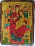 Икона под старину, 125-165, Всецарица, шт
