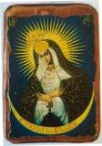 Икона под старину, 70-100, Остробрамская, шт