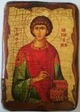 Икона под старину, 70-100, Пантелеймон, шт