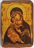 Икона под старину, 70-100, Владимирская, шт