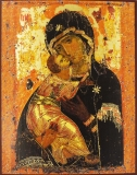 EX2-007PO, Икона Mega Byzantine. 112x141. Владимирская